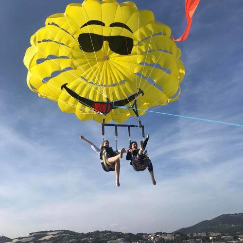 Parachute ascensionnel Bandol biplace